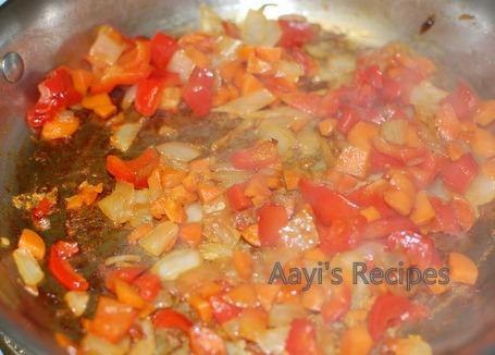 spaghetti in vegetable sauce3