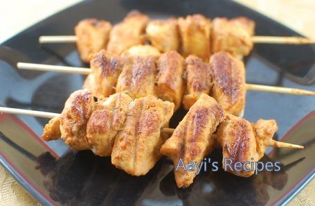 grilled chicken kabab w k methi