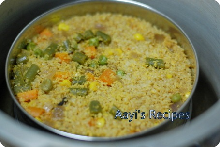 cracked wheat pulav5