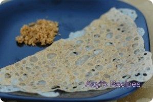 Wheat Flour Dosa (Ganva Polo)