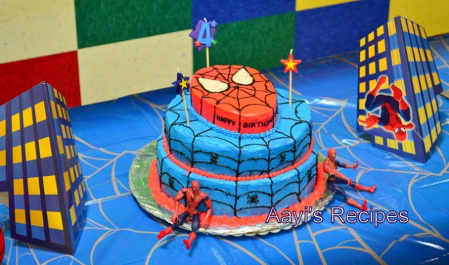 spiderman cake5