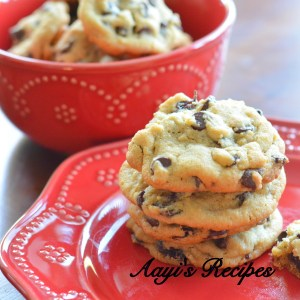 Raisin and Chocolate Chip Cookies