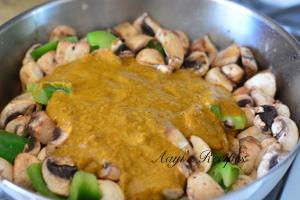 mushroom-capsicum gravy11