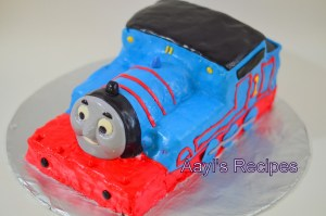Thomas Cake – For a friend's 3 year old son
