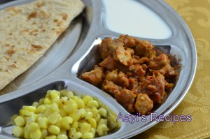 Tomato Chicken with Whole Spices
