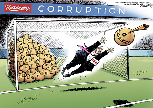 FIFA culture eroded ethics