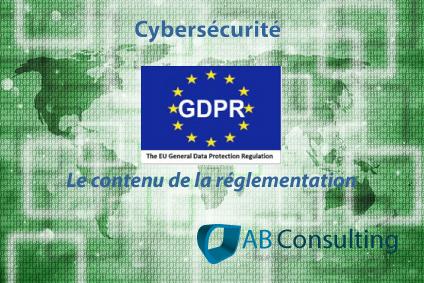 GDPR le contenu de la réglementation sur la protection des données