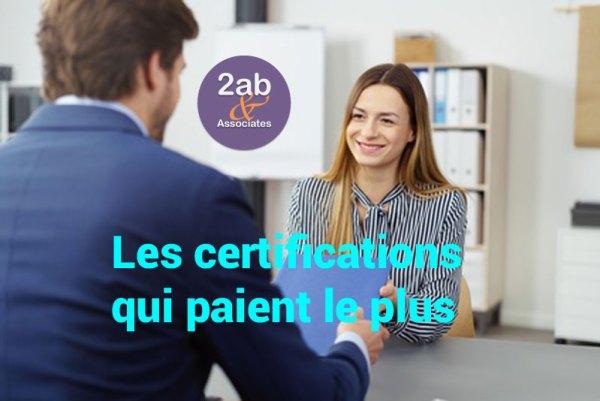 6 certifications qui paient en 2018