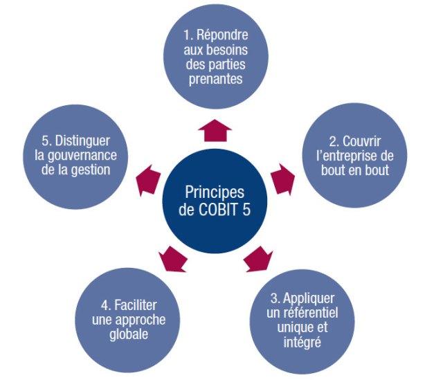 COBIT : les 5 principes