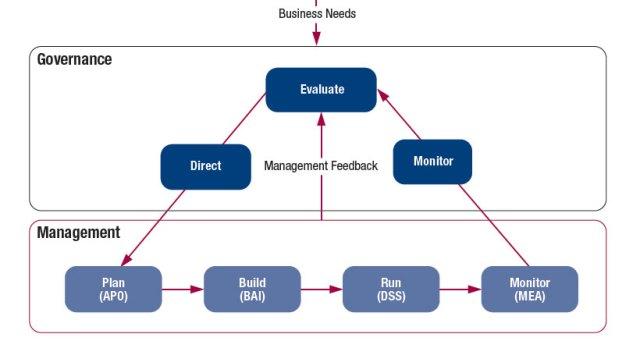 Responsabilités de la Gouvernance et du Management - COBIT