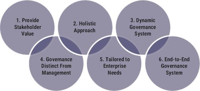 Les 6 principes d'un système de gouvernance selon COBIT 2019