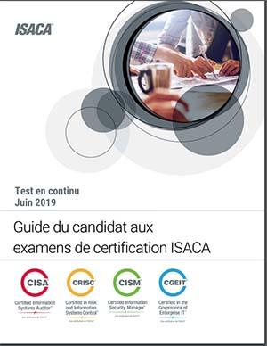 Guide du candidat aux examens ISASA - CRISC, CISA, CISM, CGEIT pour les CISO ou RSSI