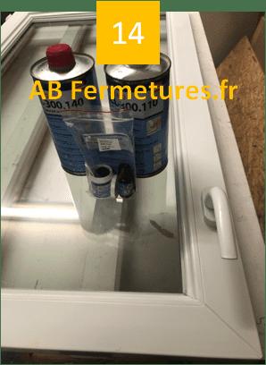 Démonstration réparation menuiserie pvc - Etape 14 - AB Fermetures Le Havre