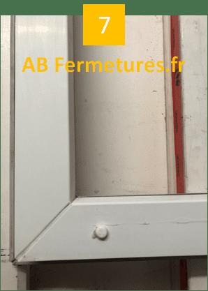Démonstration réparation menuiserie pvc - Etape 7 - AB Fermetures Le Havre