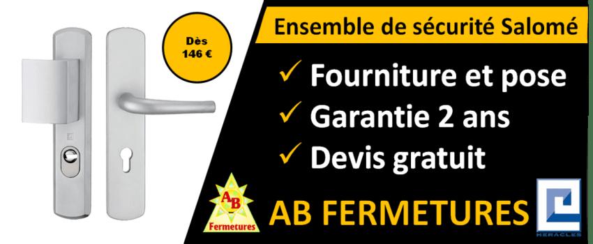 Ensemble de sécurité salomé Heracles par AB Fermetures Le Havre