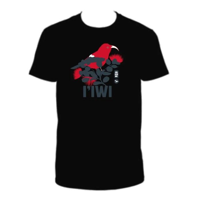 2018 Bird of the Year T-shirt - Iiwi