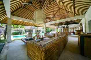 Villa Nyoman Living Room Area