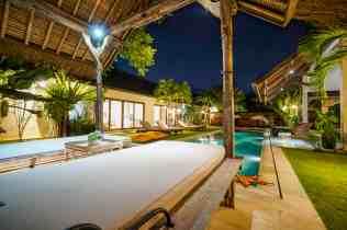 Villa Kadek Swimming Pool at Night(3)