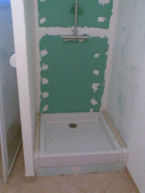 Fourniture Et Pose De Cloison Hydrofuge Pour Salle De Bain