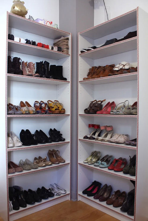 Creation Dun Espace De Rangement Pour Cellier Et Chaussures