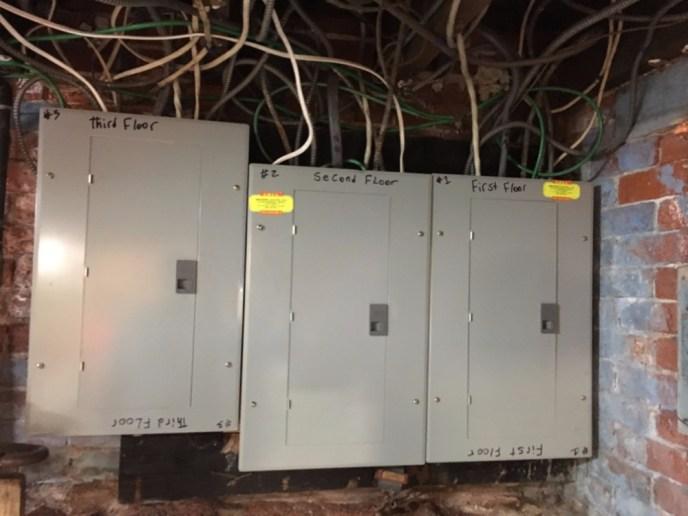 Three Family Circuit Panels