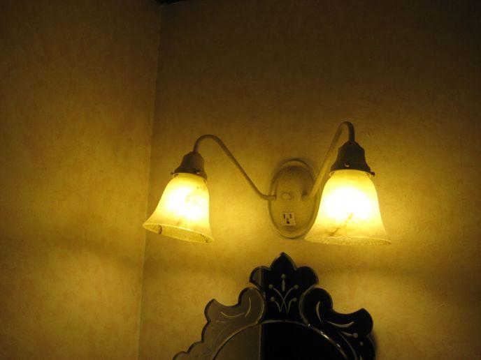 Bathroom Lighting Install