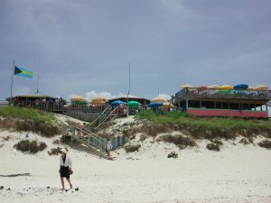 A view of Nipper's from the beach.