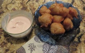 Debbie's Conch Fritters - YUM!