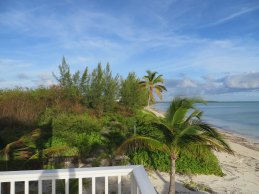 Looking east from the main Abaco Palms deck
