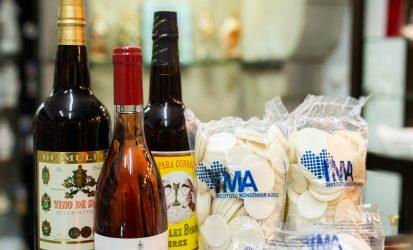 Vinos de misa y alimentos monacales