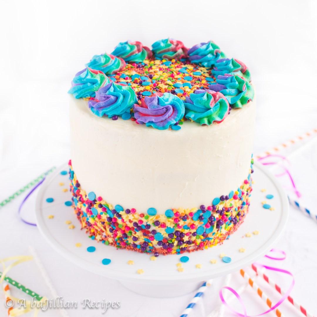 Homemade Funfetti Cake