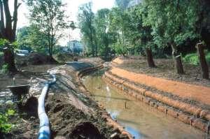 Travaux rivière - Architecte paysagiste