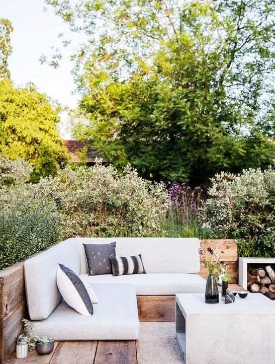 patio, dekoracje na patio, dekoracje do ogrodu, patio w stylu skandynawskim, patio w stylu orientalnym