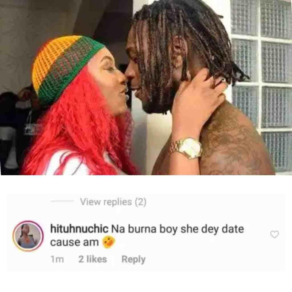 Cynthia Morgan Caused Her Misfortune By Dating Burna Boy