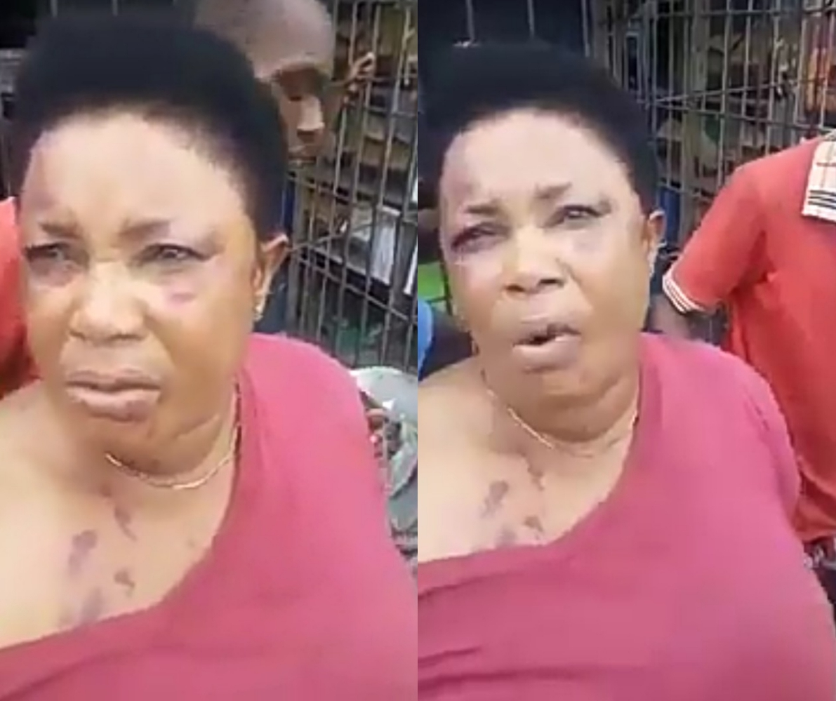 Woman returns the manhood she stole spiritual in Aba