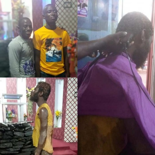 Pastor Heals Mad Man in Ghana and Begs For People to Bring More Mad Men