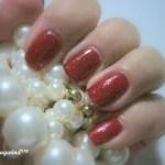 Red Glitter Franken