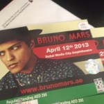 Bruno Mars in Dubai 2013