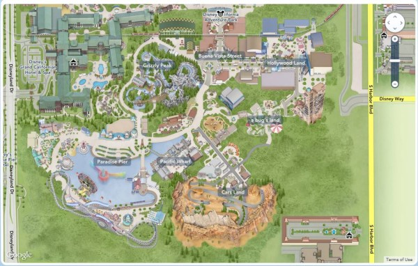 California Disney Adventure Map_abandme