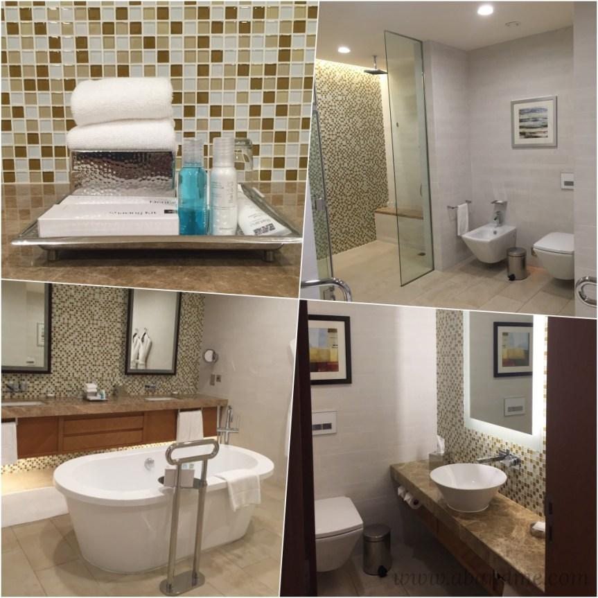 Ghurair Rotana Toilet Bath