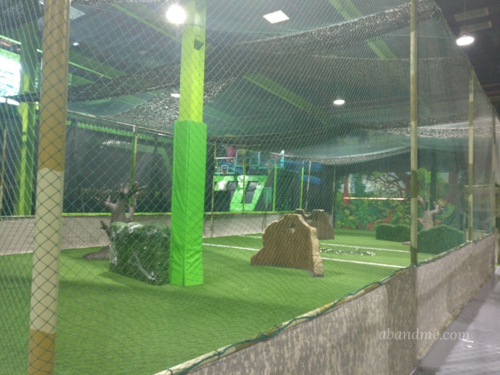 FlipOut Duubai The Jungle