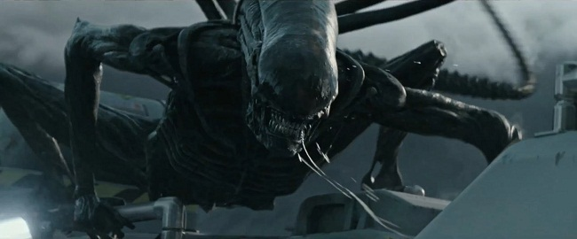 Sin sorpresas: 'Alien: Covenant' recibe calificación R