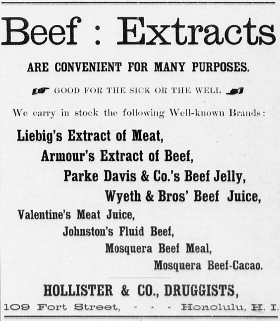 Valentines Meat Juice An Odd Tonic Trusted The World