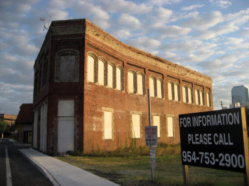 Photo Credit: Bill Rogers, 2008 - The Depot Union Hotel was for sale for years, but never attracted any buyers to try and restore it.