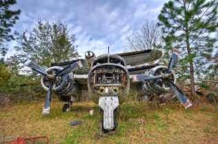 Grumman S-2 Tracker Boneyard | Photo © 2009 Walter Arnold