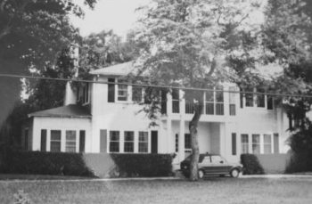 How it looked in 1991, by then it was owned by Jeanne McFadden and her husband.
