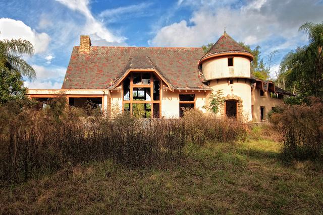 Castle Hill Mansion Abandoned Florida