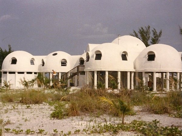 Cape Romano Dome House - Photo from Coastal Breeze News