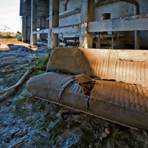 Prairie Pebble Phosphate Co. Dry Bin | Photo © 2009 Jeff Fillmore,