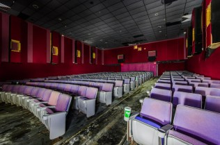 Sunrise Cinemas Intracoastal 8 | Photo © 2014 Bullet, www.abandonedfl.com